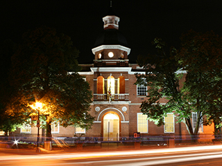 Anne Arundel County Courthouse at Night